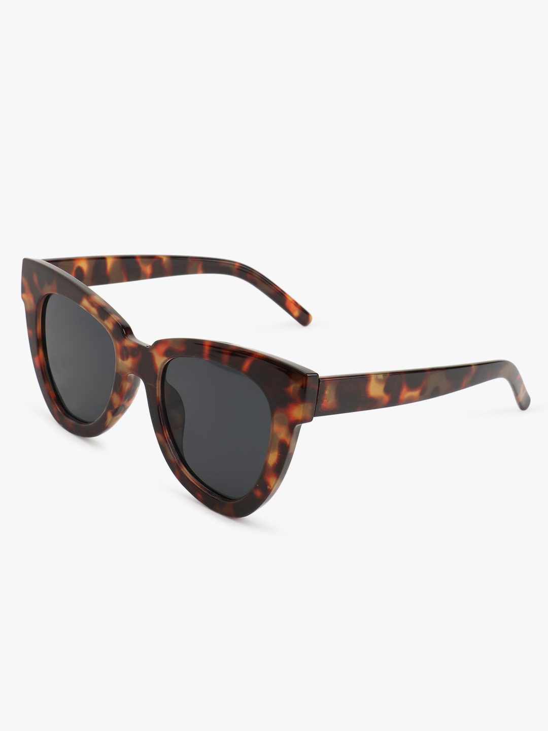 Sneak-a-Peek Brown Tortoise Rimmed Sunglasses 1