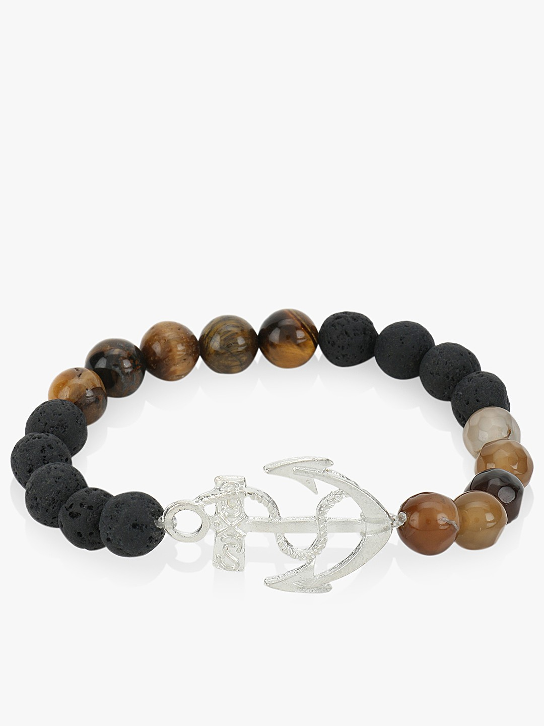 KOOVS Multi Bracelet With Metallic Anchor 1