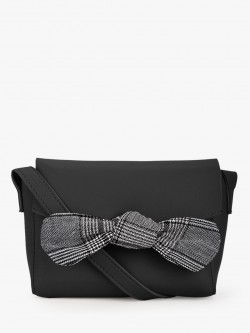 Style Fiesta Bow Detail Sling Bag