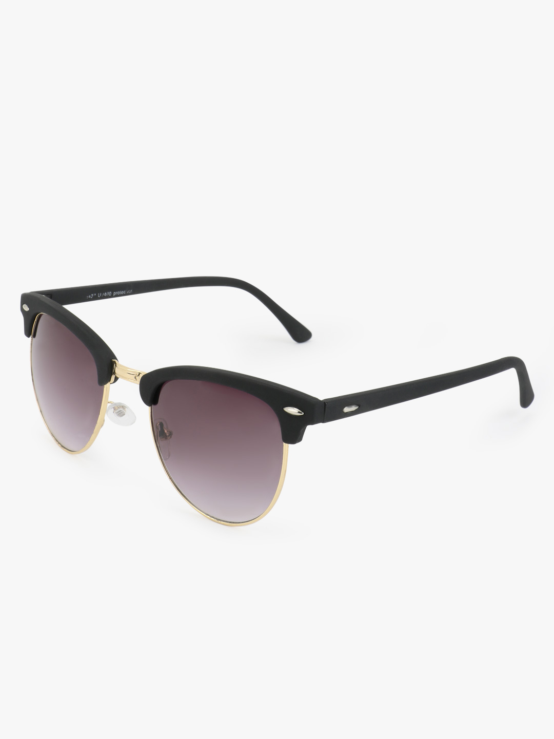Kindred Black Tinted Lens Retro Sunglasses 1