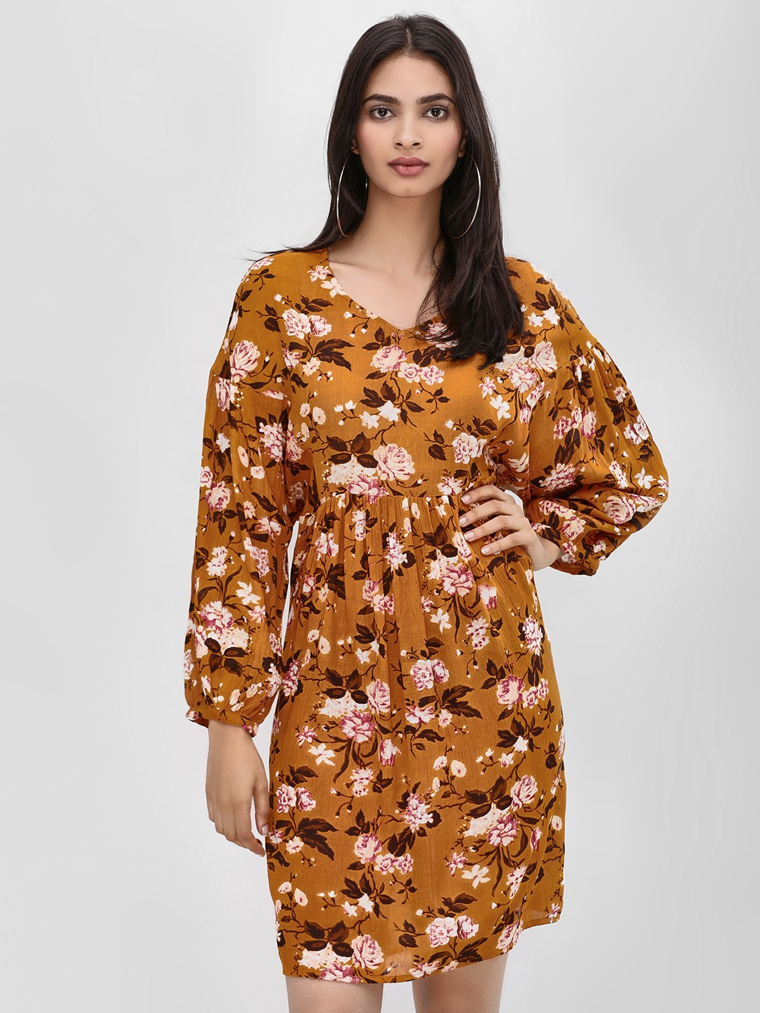 Kisscoast Print Floral Printed Shift Dress 1