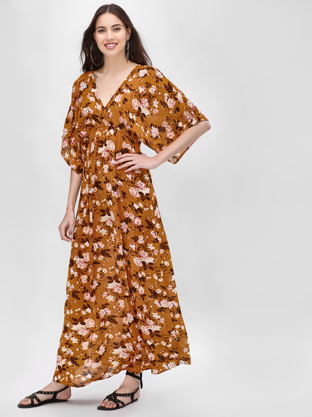 Kisscoast Print Floral Printed Maxi Dress 1