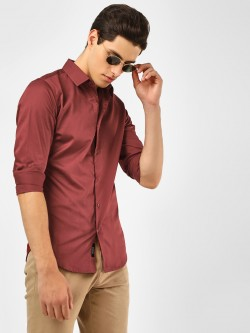 KOOVS Long Sleeve Smart Shirt