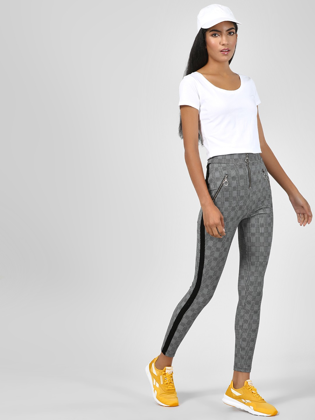 KOOVS Multi Jeggings With Ring Zipper 1