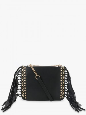 PARIS BELLE Slingbag With Stud...