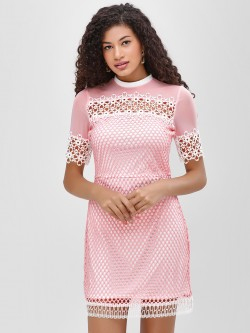 Cover Story Lace Shift Dress