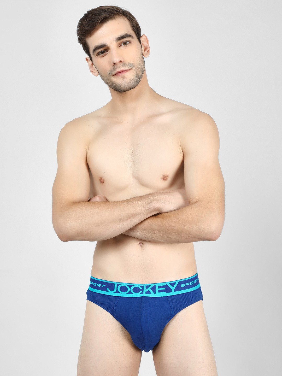 Jockey Dark Blue Sports Performance Briefs 1