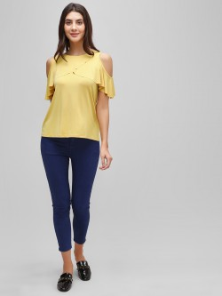 Cover Story Ankle Length Skinny Jeans