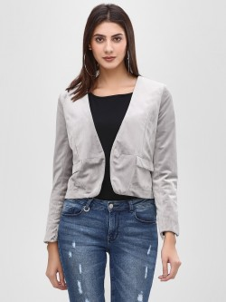 Cover Story Blazer With Pocket Flap Detail