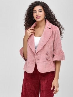 Cover Story Jacket With Button Detail