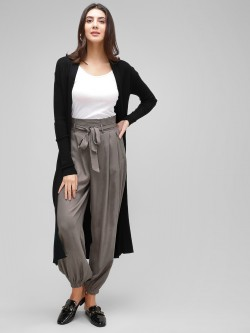 Cover Story Paperbag Waist Cuffed Trousers