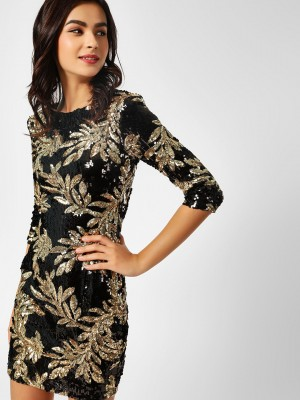 MISSI CLOTHING Sequin Leaf Bod...