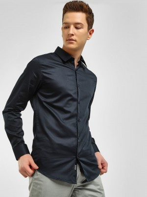 KOOVS Satin Finish Smart Shirt...