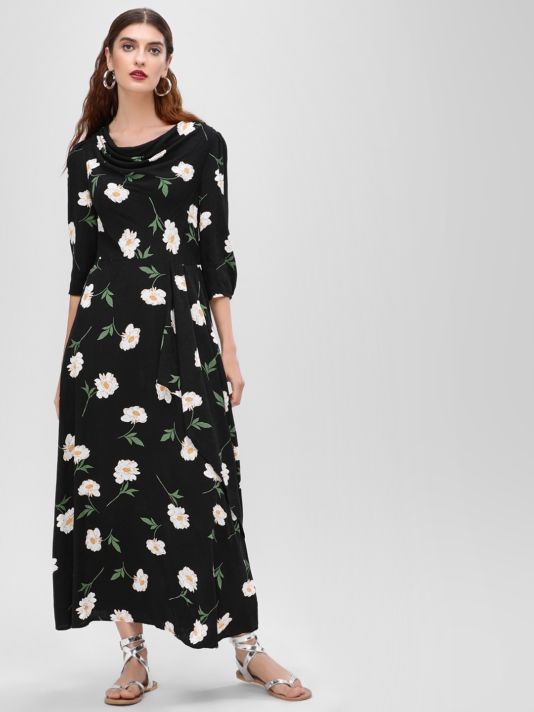Cover Story Print Floral Printed Maxi Dress 1