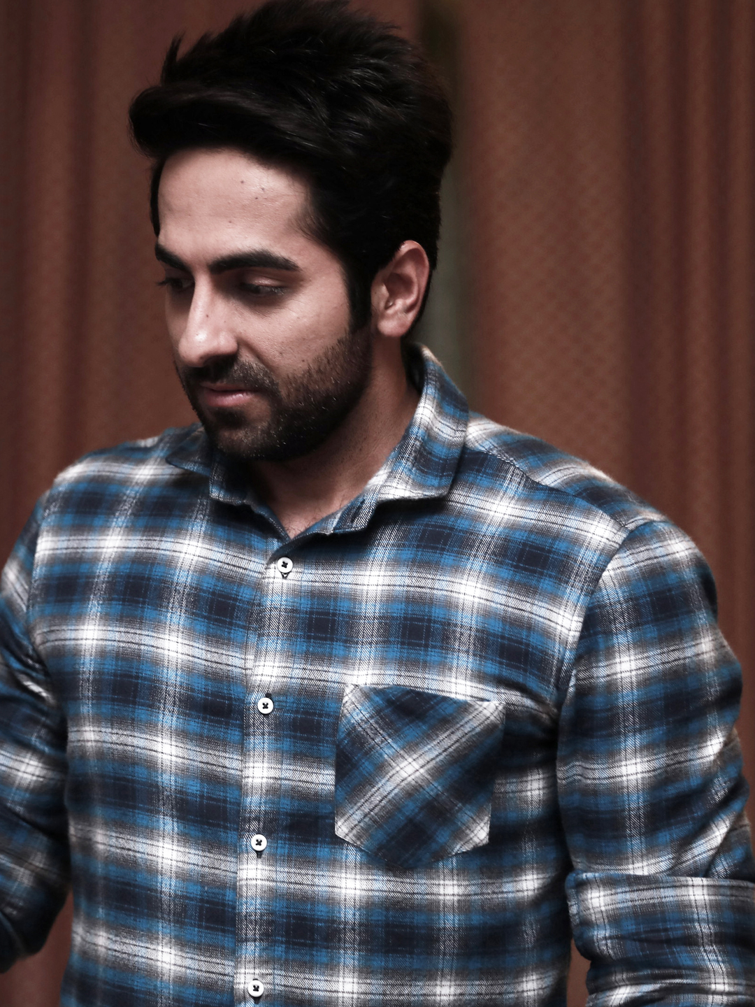 Bollywoo MULTICOLOUR In The Style Of Ayushmann Check Shirt 1