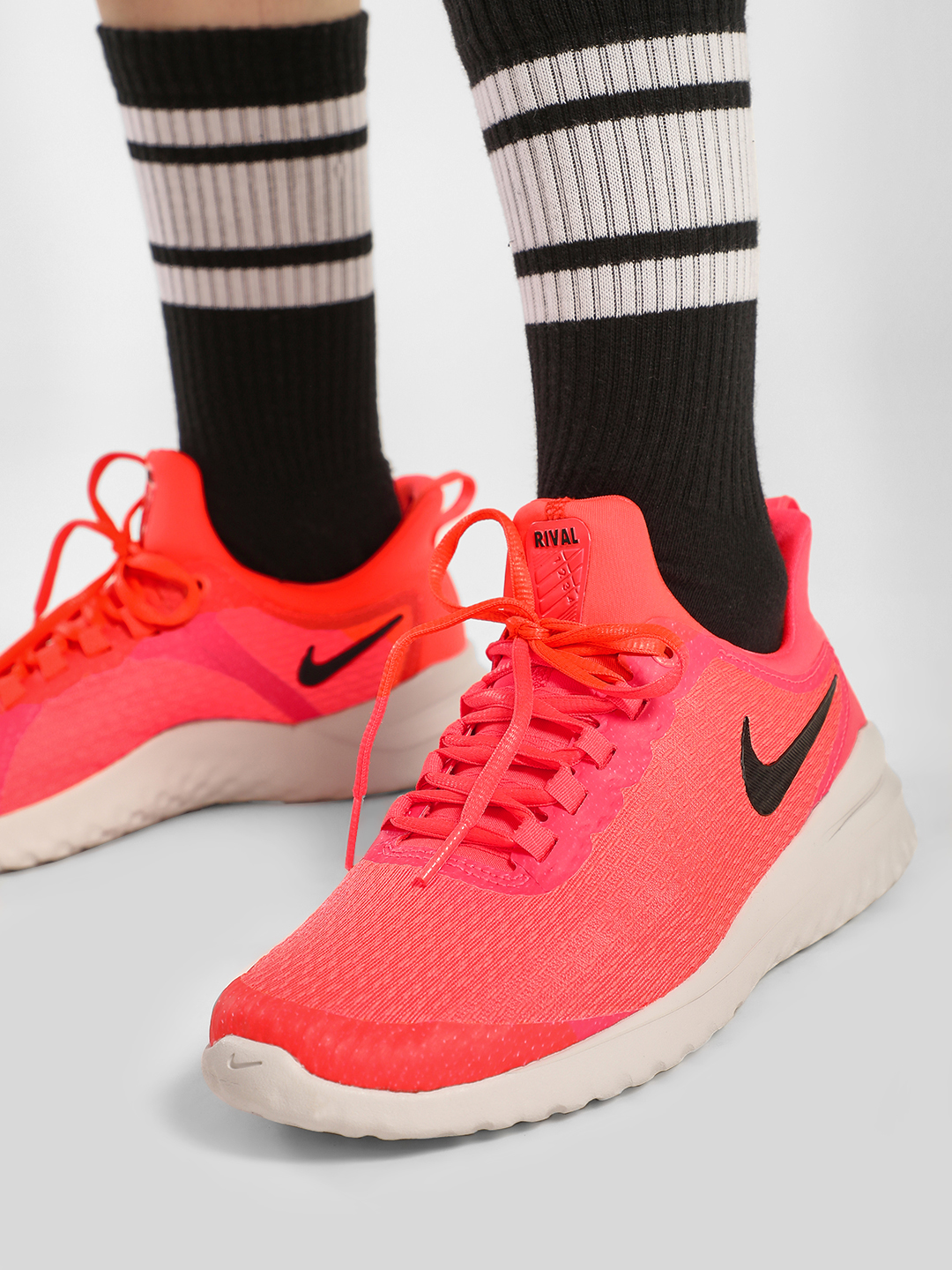 Nike Red Renew Rival Trainers 1