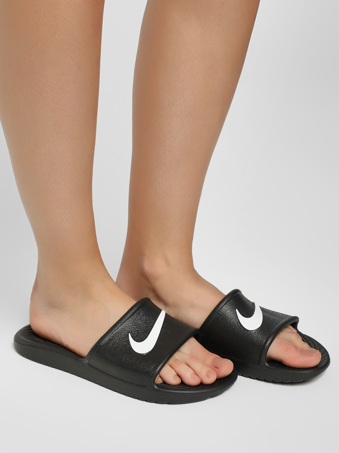 Nike Black Kawa Shower Sliders 1