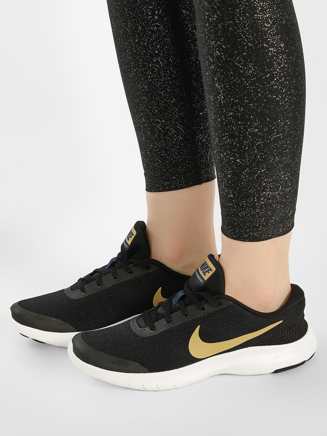 Nike Black Flex Experience RN 7 Running Shoes 1