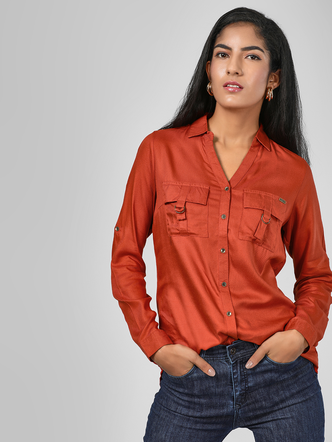 RIG Rust Pocket Flap Shirt 1