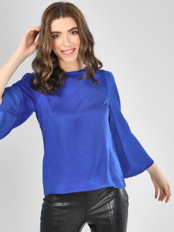 SCULLERS FOR HER Bell Sleeve Blouse