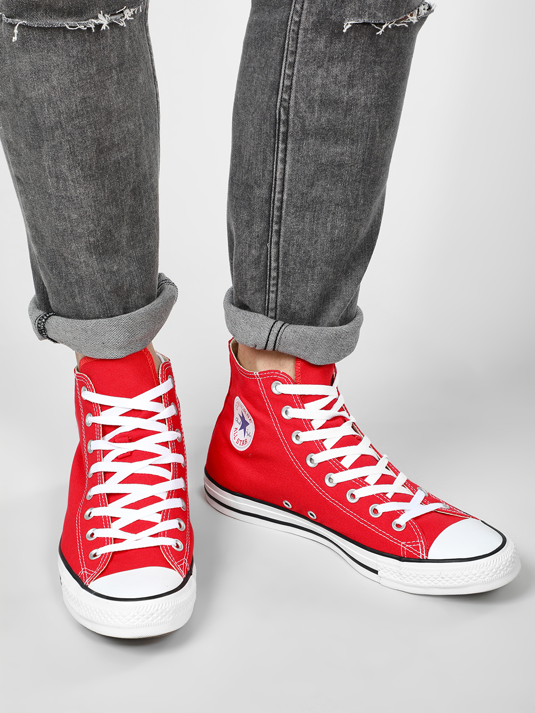 Converse Red Chuck Taylor All Star High Top 1