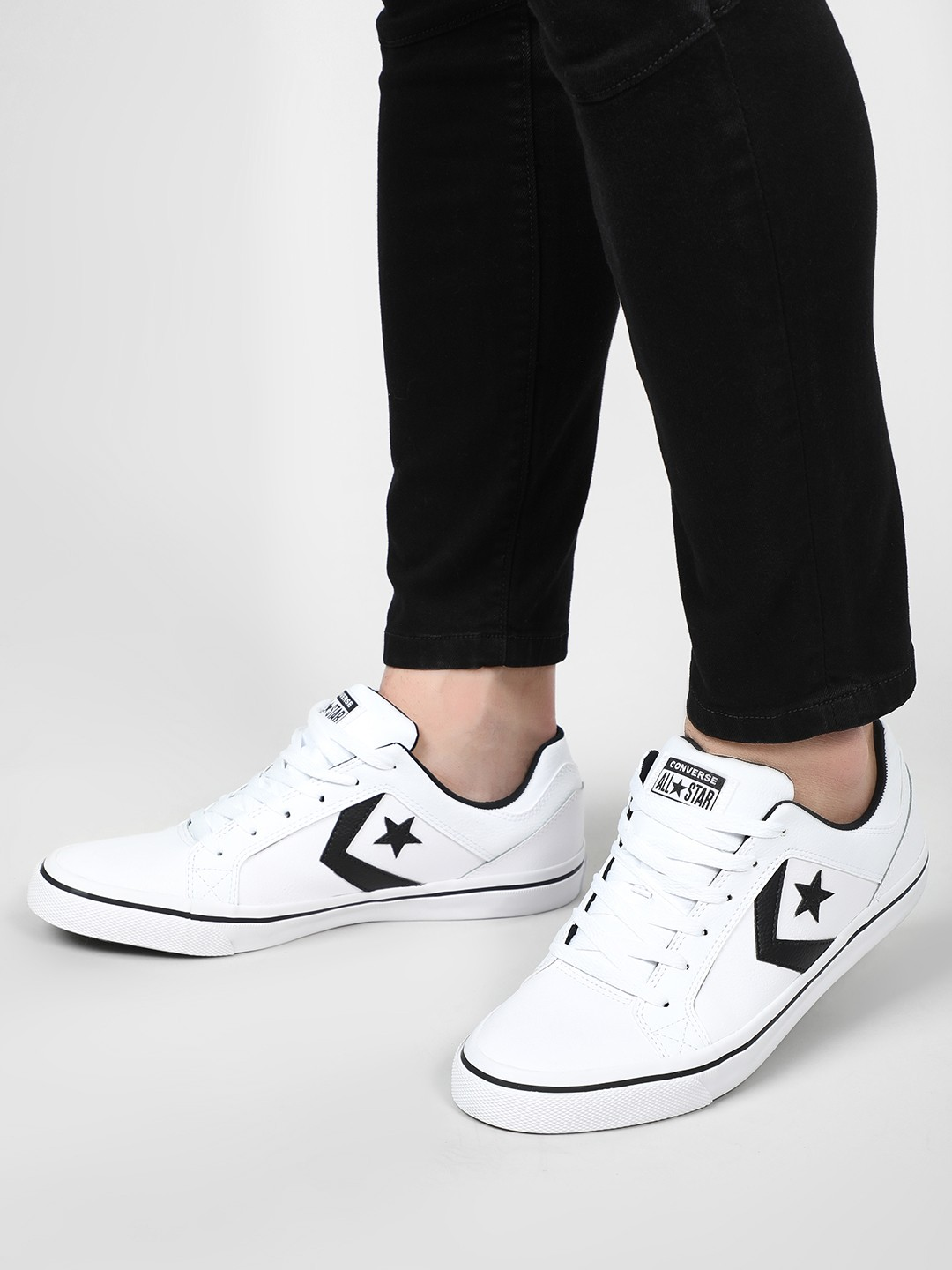 Converse White One Star Patented Low Top Sneakers 1