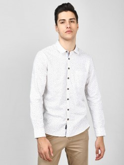 SCULLERS All Over Print Oxford Shirt
