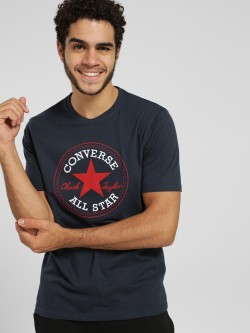 Converse Logo Embroidered T-Shirt