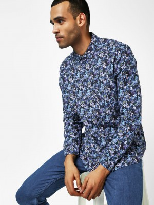 INDIGO NATION Floral Printed C...