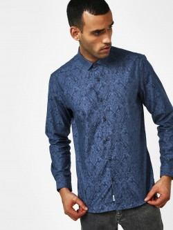 Indigo Nation Self-Design Casual Shirt