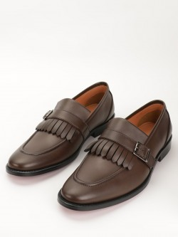 Griffin Fringe Monk Loafers