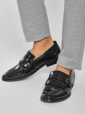 GRIFFIN Fringe Monk Strap Form...