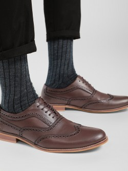 Griffin Derby Toe Punches Formal Shoes