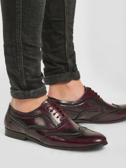 Griffin Two Tone Brogue Oxford Shoes