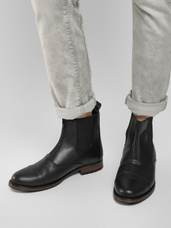 Griffin Front Zip Chelsea Boots