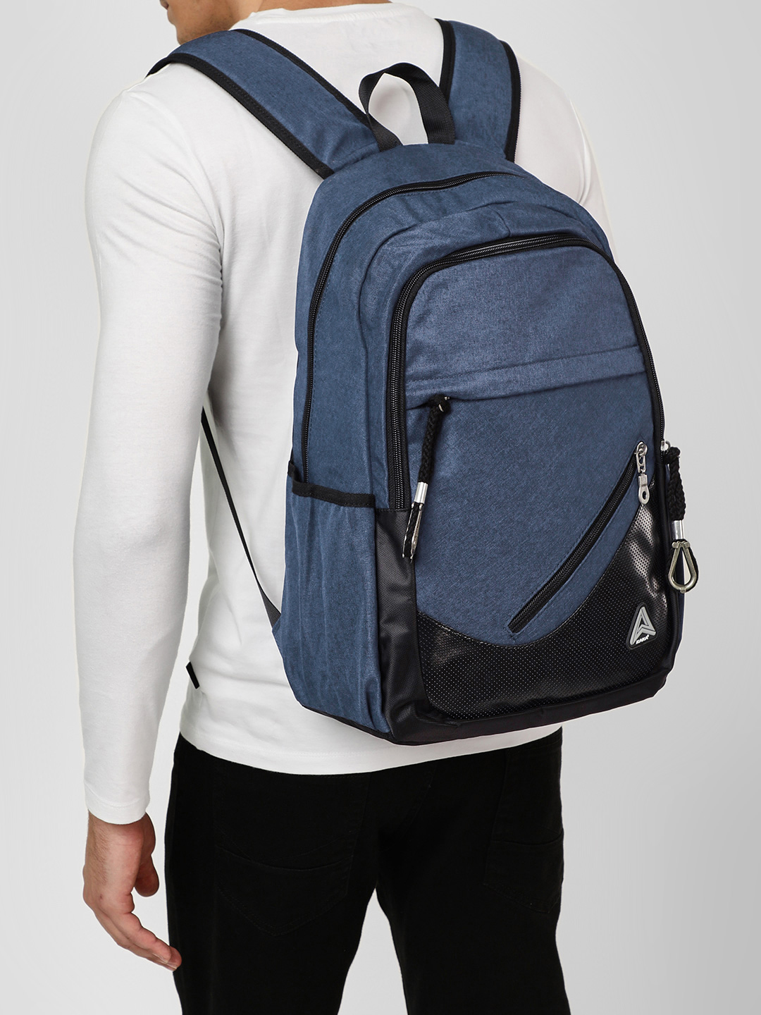 KAKA Blue Two Tone Backpack 1