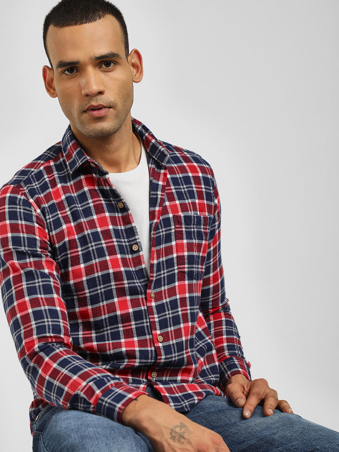 AMON Multi Casual Check Shirt 1