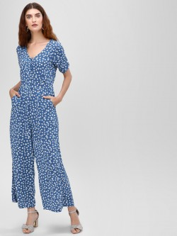 Cover Story Ditsy Floral Printed Jumpsuit