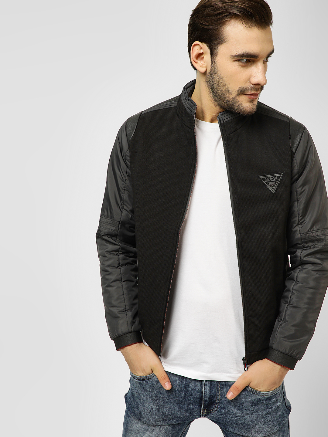 Fort Collins Black Cut And Sew Jacket 1
