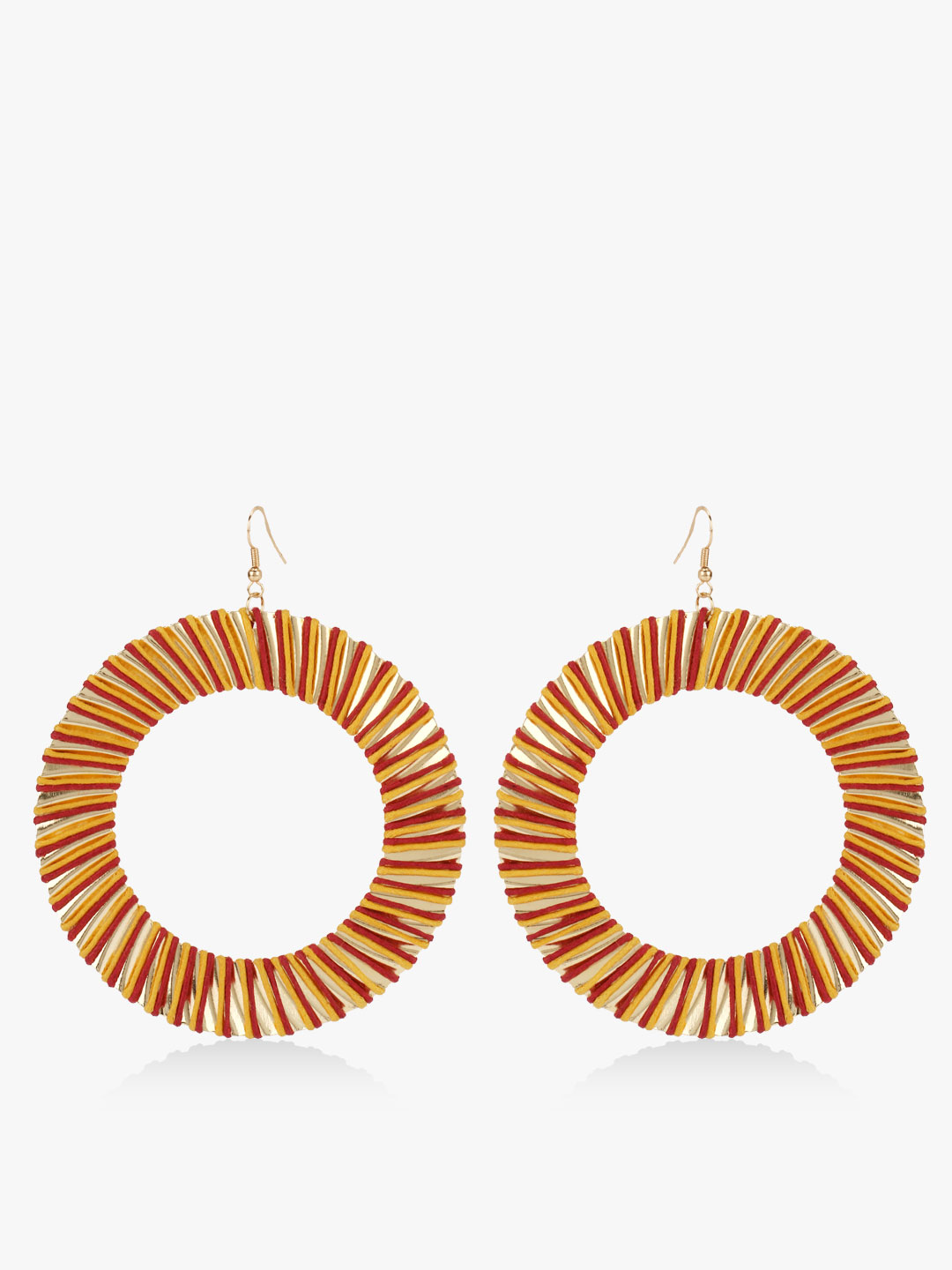 Blueberry Multi Concentric Statement Earrings 1