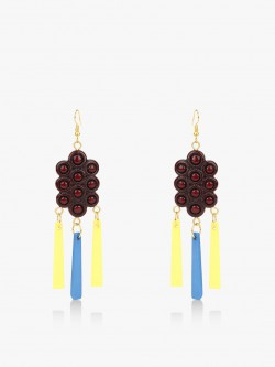 Blueberry Grape Bunch Earrings