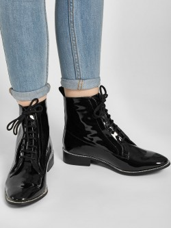 KOOVS Diamante Embellished Ankle Boots