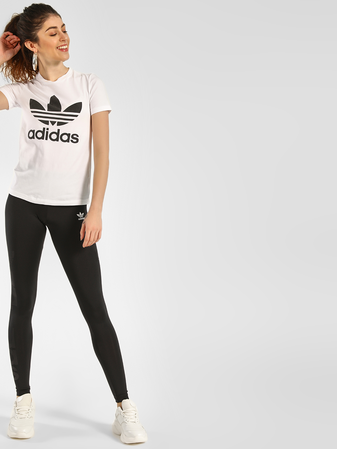 Adidas Originals Black Tights 1