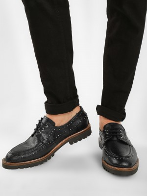 KOOVS Studded Lace Up Shoes...