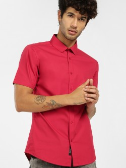KOOVS Basic Short Sleeve Shirt