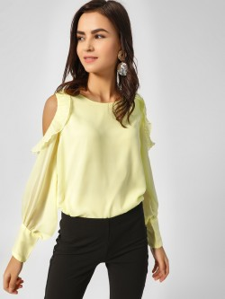 Cover Story Cold Shoulder Top
