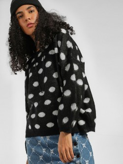 KOOVS Polka Dot Oversized Jumper