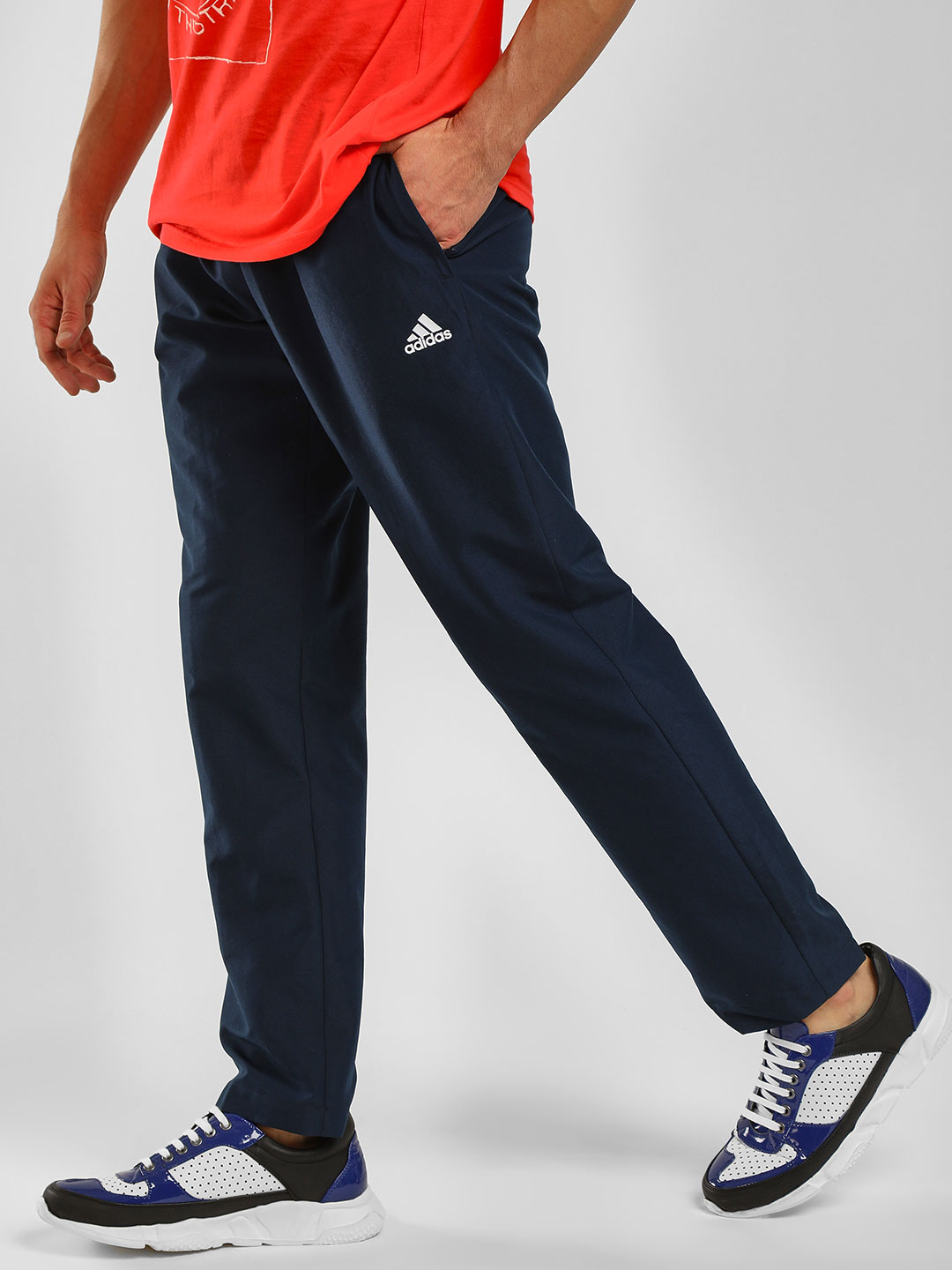 Adidas Blue Jog Pants 1