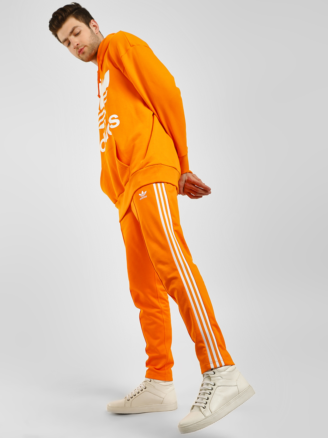 Adidas Originals Orange BB Track Pants 1
