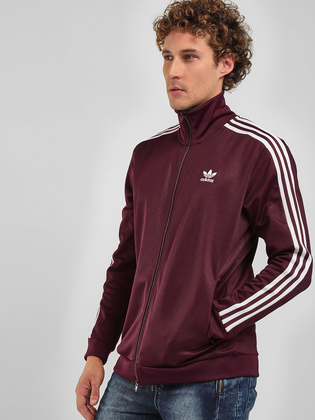 Adidas Originals Maroon BB Track Jacket 1